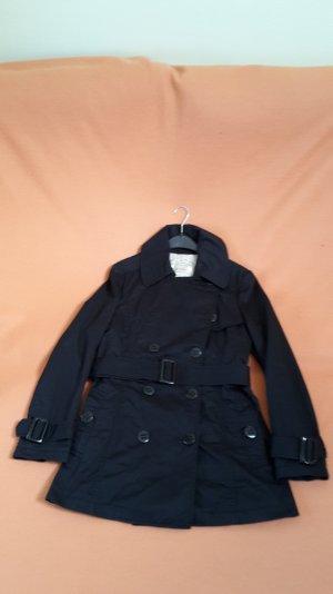 Neuwertiger schwarzer SPRINGFIELD Trenchcoat