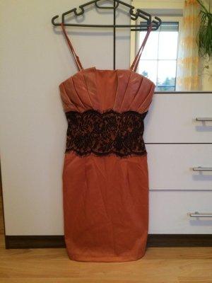 ** Neuwertiges Abendkleid Orange **