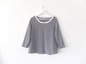 neuwertiges COS Shirt Gr. L 40 42 3/4 arm blau weiß gestreift