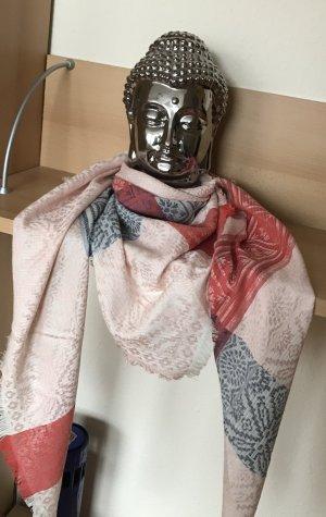 Foulard multicolore coton