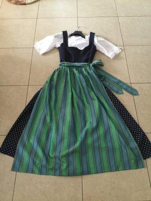 Berwin & Wolff Vestido Dirndl multicolor tejido mezclado