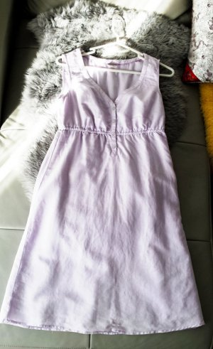 Esprit Babydoll-jurk paars Katoen