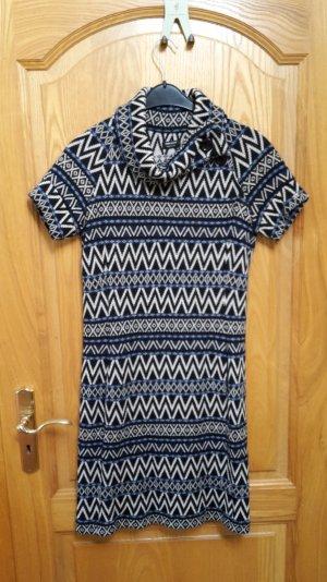 Neuwertiges farbiges MISS SIXTY Kleid 'Micky' in Acryl und Wolle