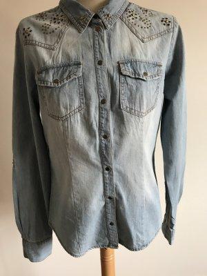 Only Denim Shirt light blue