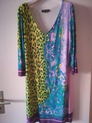 Neuwertiges Kleid von ana alcazar, 92% Viskose, leuchtende Farben