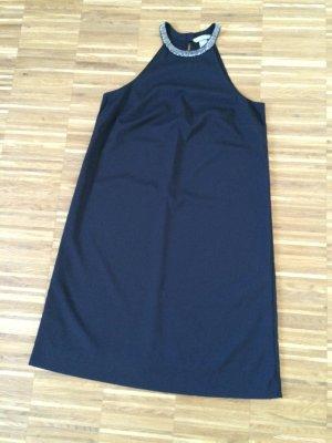 Neuwertiges kleines Schwarzes, Neckholderkleid in A-Linie von H&M