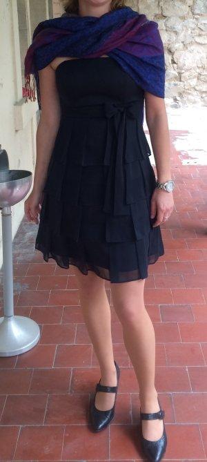 Neuwertiges Kurzes Chiffon Cocktailkleid