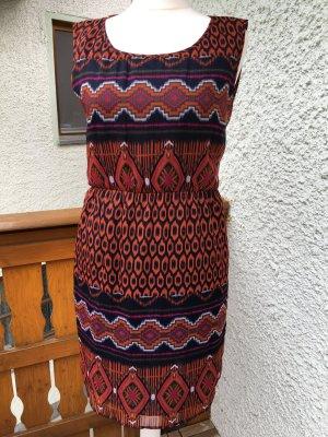 neuwertiges luftig-leichtes Sommerkleid von Street One, Gr. 42