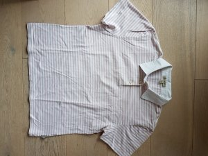 Neuwertiges Original Burberry Poloshirt Polo Shirt XL Gr. 42 44 rosa weiß ORIGINAL