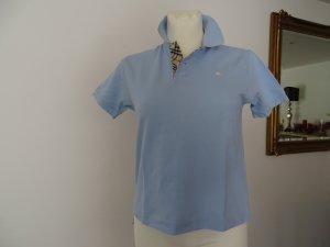 Burberry Camiseta tipo polo azul claro Algodón