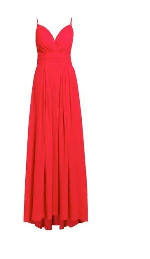 Neuwertiges rotes Abendkleid Größe 38