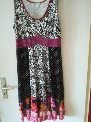 Neuwertiges Sommerkleid, 100 % Baumwolle, Mustermix, von HEINE Gr. 40/42