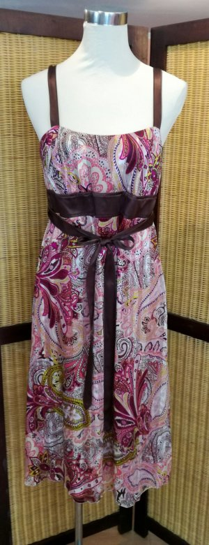 St. emile Robe empire multicolore