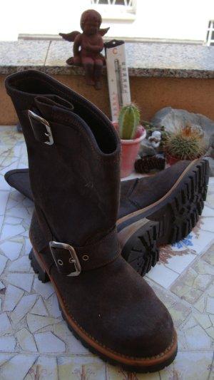Biker Boots multicolored leather