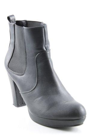 Never 2 Hot Schlüpf-Stiefeletten schwarz Elegant