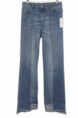 Never Denim Boot Cut Jeans blau-stahlblau Casual-Look