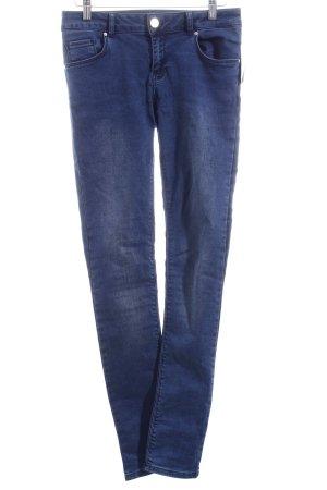 Never Denim Skinny Jeans dunkelblau schlichter Stil