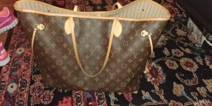 Louis Vuitton Sac à main multicolore lin