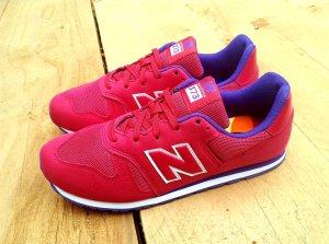 New Balance Sneakers met veters roze Synthetisch