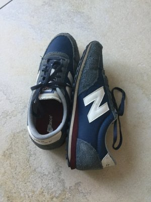 New Balance Lace-Up Sneaker steel blue-white