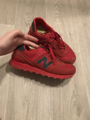 New Balance Sneakers met veters rood