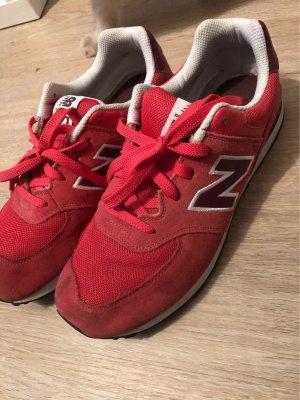 New Balance Sneakers met veters rood