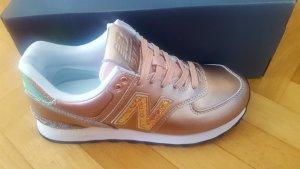 New Balance 574 Classic, multicolor, rosegold metallic