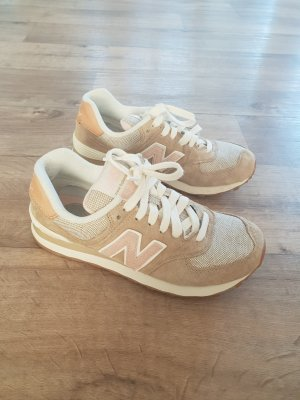New Balance 574 Sneaker Turnschuhe Pastell Nude 36.5