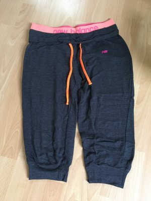 New Balance Hose Sporthose grau M 38 orange pink 3/4-Hose