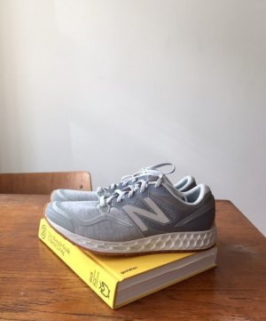 New Balance Lace-Up Sneaker silver-colored-light grey