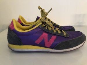 New Balance satin / Leder sneakers