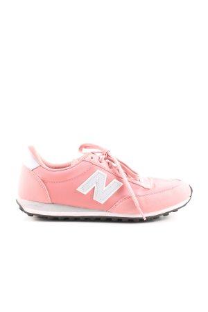 New Balance Schnürschuhe rosa-hellgrau sportlicher Stil