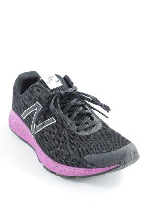 New Balance Schnürschuhe schwarz-pink sportlicher Stil