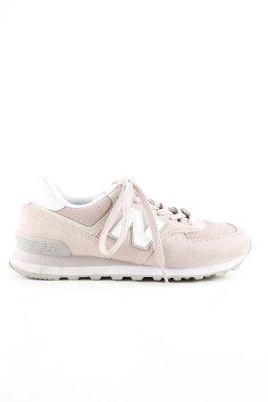 New Balance Schnürsneaker pink-weiß Casual-Look