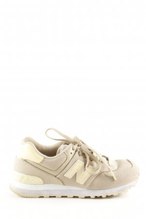 New Balance Schnürsneaker creme-wollweiß Casual-Look