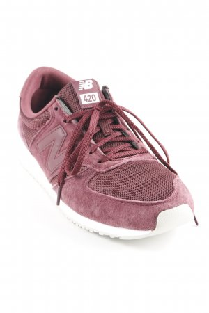 New Balance Schnürsneaker karminrot Casual-Look