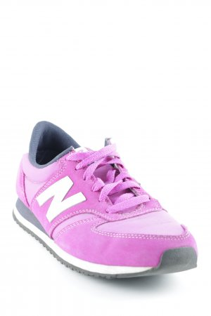 New Balance Schnürsneaker pink-magenta sportlicher Stil