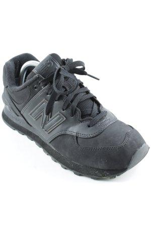 New Balance Schnürsneaker schwarz sportlicher Stil