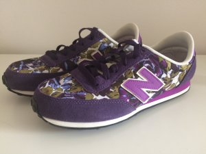 New Balance Schuhe 41,5 neu lila floral mit Blumen Sommer Herbst NB