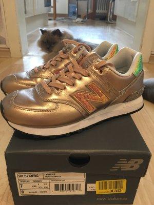 New Balance Schuhe Gold