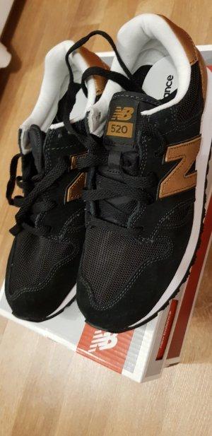 New Balance Schuhe Sneaker schwarz Gold 37
