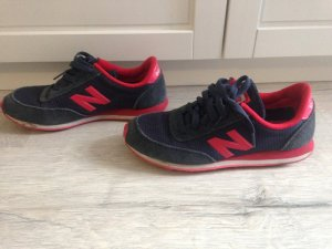 New Balance Sneaker - 38,5 - blau/rot - sehr gut erhalten