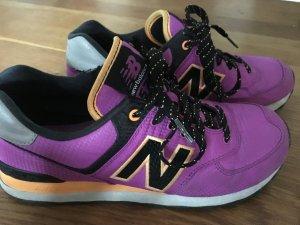 New Balance Sneaker, 39, Brombeer mit schwarz und orange