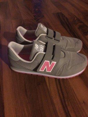 New Balance Zapatillas con velcro gris-rosa