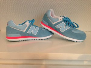 New Balance sneaker blau