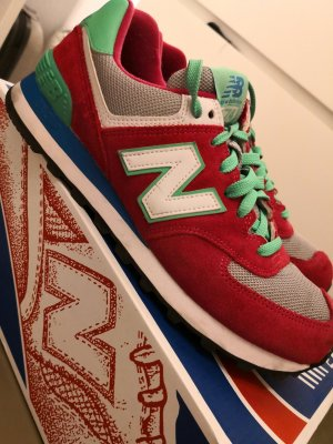 New Balance Sneaker Classics Pink Grün 40