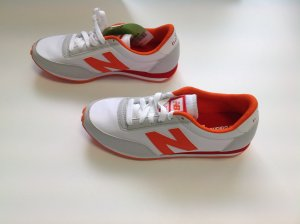 New  Balance Sneakers, weiß/orange, Gr. 37,5, NEU,! NP 89,90