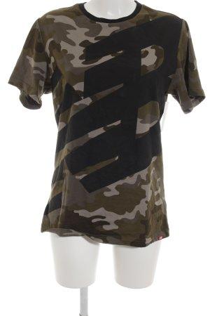 New Balance T-Shirt Camouflagemuster sportlicher Stil