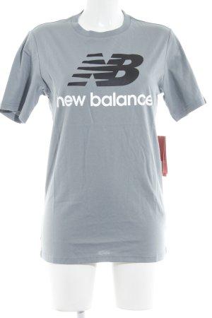 New Balance T-Shirt Schriftzug gedruckt sportlicher Stil