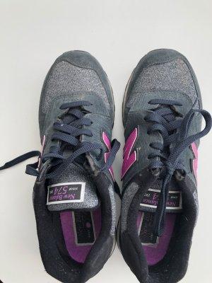 New Balance Turnschuhe grau pink Größe 41